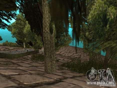 Montaña de piedra para GTA San Andreas quinta pantalla