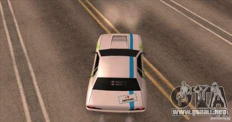 Paintjob for Elegy para GTA San Andreas vista hacia atrás