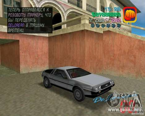 DeLorean DMC 12 para GTA Vice City