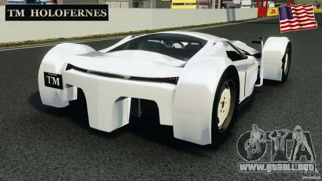 TM Holofernes 2010 v1.0 Beta para GTA 4 Vista posterior izquierda
