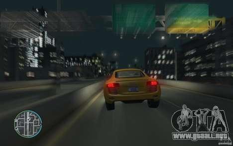 Audi R8 4.2 FSI para GTA 4 left