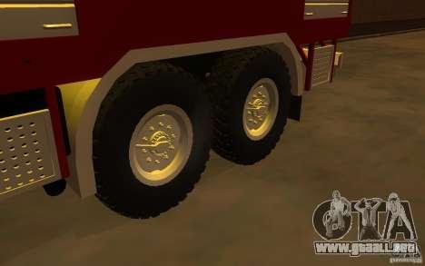 KAMAZ 43118 CA-7, 0-40 para la visión correcta GTA San Andreas