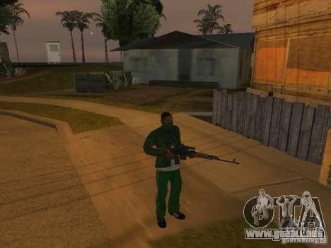 CLEO armas para GTA San Andreas tercera pantalla