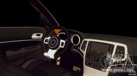 Infiniti FX37 v1 para la visión correcta GTA San Andreas