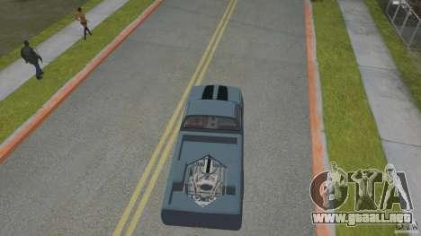 Chevrolet Silverado Mini Truckin 1996 para GTA San Andreas vista hacia atrás