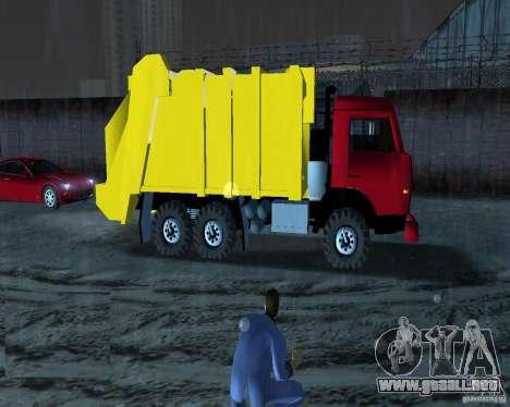Camión Kamaz para GTA Vice City left