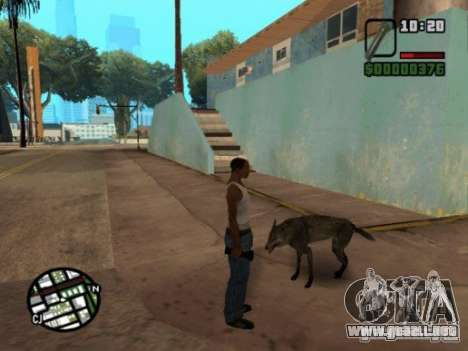 Animals in Los Santos para GTA San Andreas tercera pantalla