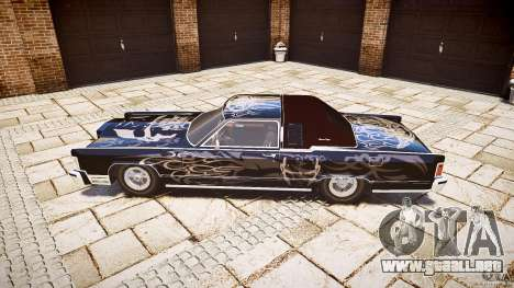 Lincoln Continental Town Coupe v1.0 1979 para GTA 4 left