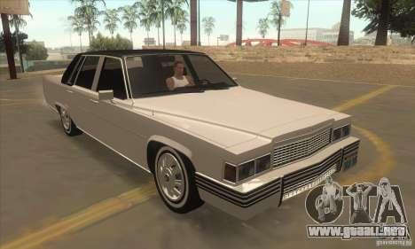 GTA IV Emperor para GTA San Andreas vista hacia atrás