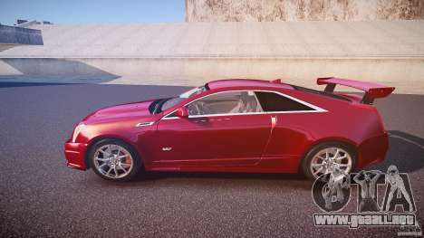 Cadillac CTS-V Coupe para GTA 4 left