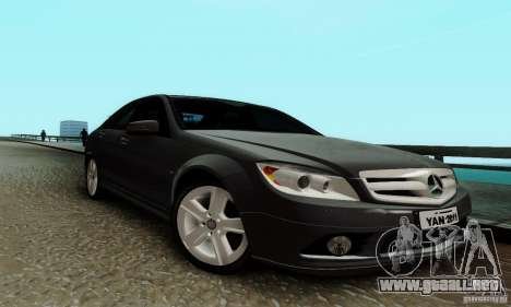 Mercedes-Benz C180 para GTA San Andreas left