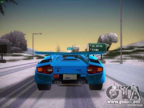 Lamborghini Countach LP5000 para la visión correcta GTA San Andreas
