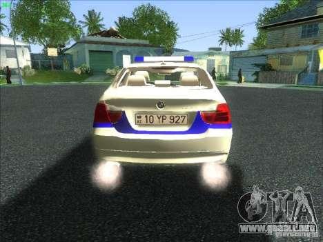 BMW 330i YPX para la visión correcta GTA San Andreas