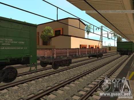 Modificación del ferrocarril III para GTA San Andreas décimo de pantalla