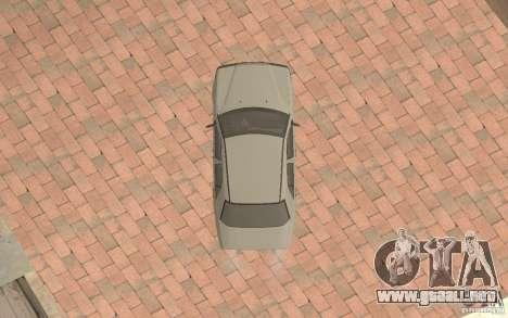 Mercedes-Benz E200 W124 para visión interna GTA San Andreas