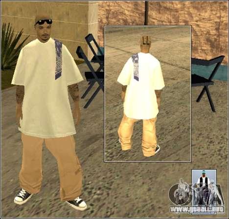 Piel Pack Getto para GTA San Andreas