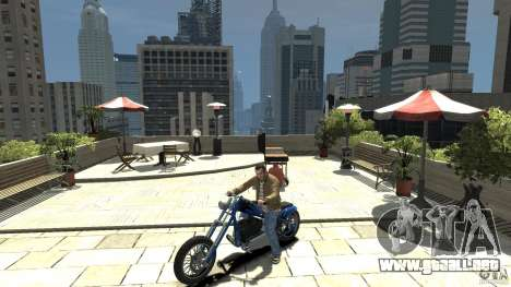 The Lost and Damned Bikes Hexer para GTA 4 left