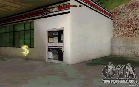 El negocio de la recarga para GTA San Andreas sucesivamente de pantalla