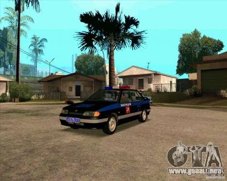 Vaz 2115 DPS para GTA San Andreas
