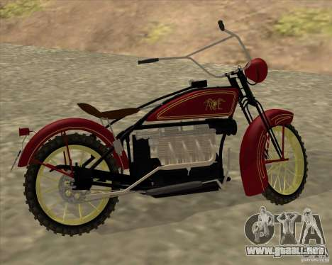 1923 ACE 1200cc para la visión correcta GTA San Andreas