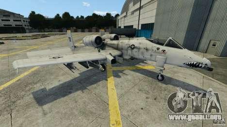 A-10A Thunderbolt II para GTA 4