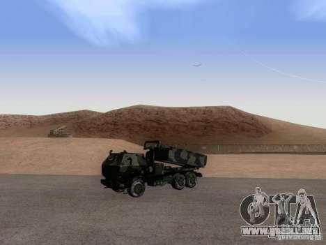 M142 HIMARS Artillery para la visión correcta GTA San Andreas