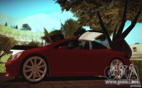 Peugeot 307CC BMS Edition para ordenadores portá para la visión correcta GTA San Andreas