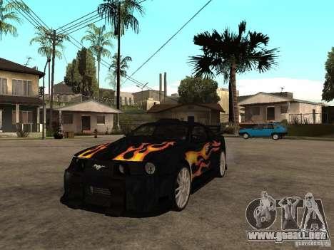 Ford Mustang GT Razor NFS MW para GTA San Andreas