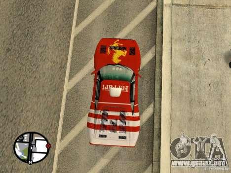 Ferrari 288 Gto para la visión correcta GTA San Andreas