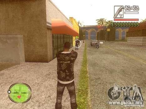 Wild Wild West para GTA San Andreas segunda pantalla