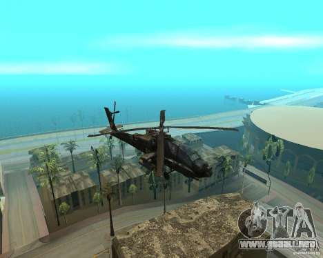 Ka-50 Black Shark para GTA San Andreas left