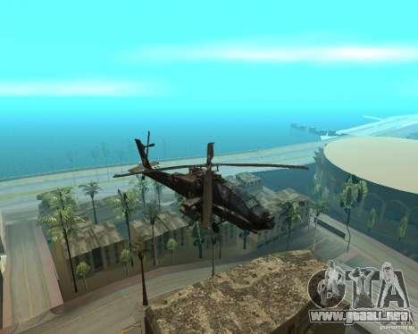 Ka-50 Black Shark para GTA San Andreas left