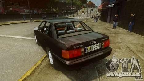 Audi 100 C4 1992 para GTA 4 Vista posterior izquierda