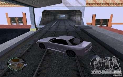 Rieles rusos para GTA San Andreas tercera pantalla