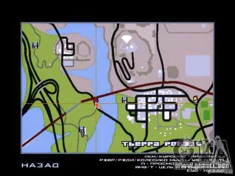 Dragon para GTA San Andreas sucesivamente de pantalla