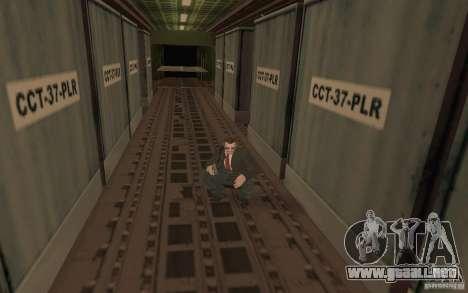 Unique animation of GTA IV V3.0 para GTA San Andreas novena de pantalla