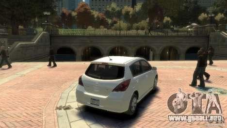Nissan Versa SL para GTA 4 left