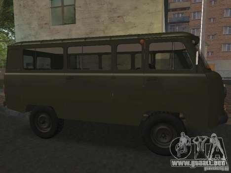2206 UAZ para GTA San Andreas left