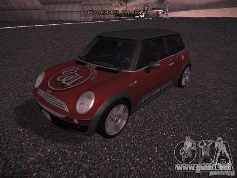 Mini Cooper S para el motor de GTA San Andreas