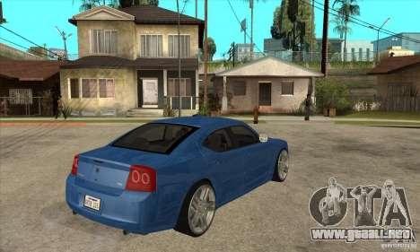 Dodge Charger R/T 2006 para la visión correcta GTA San Andreas