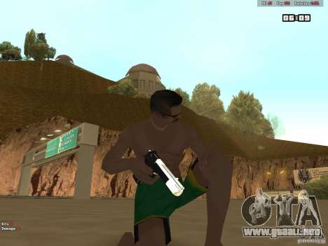 Weapon Pack V1.0 para GTA San Andreas