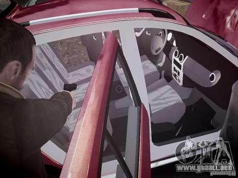 Dacia Sandero Stepway para GTA motor 4