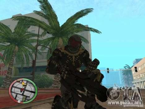 Armas exóticas de Crysis 2 para GTA San Andreas