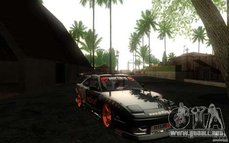 Nissan Silvia RPS13 Noxx para visión interna GTA San Andreas
