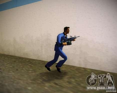FN M249 para GTA Vice City segunda pantalla