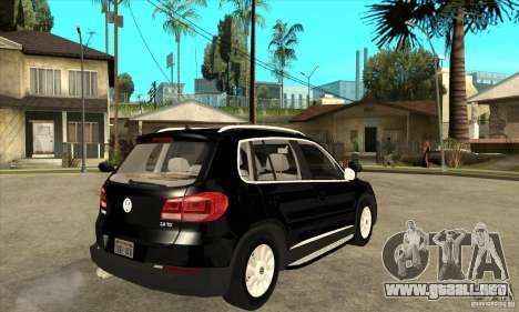 Volkswagen Tiguan 2.0 TDI 2012 para la visión correcta GTA San Andreas