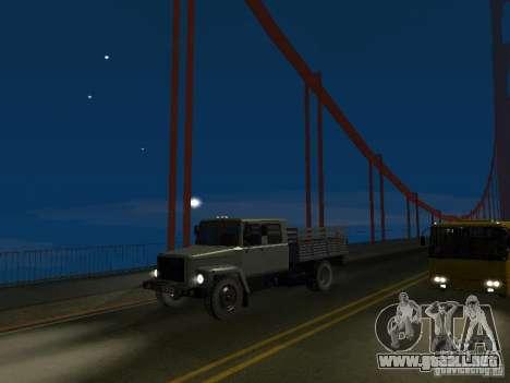 GAZ 3309 Huntsman para la visión correcta GTA San Andreas