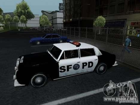 Stafford Police SF para GTA San Andreas left