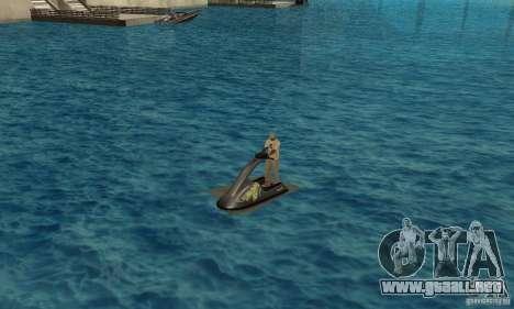 Moto de agua para GTA San Andreas