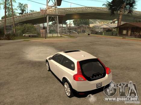 Volvo C30 para la visión correcta GTA San Andreas